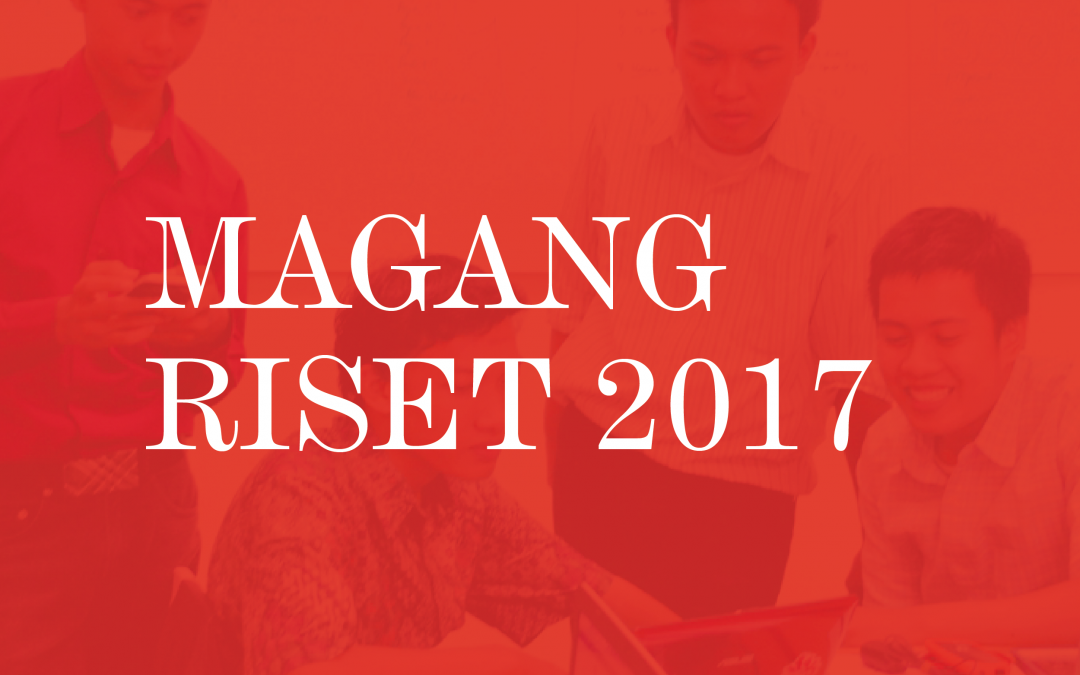 Magang Riset Nano Center Indonesia