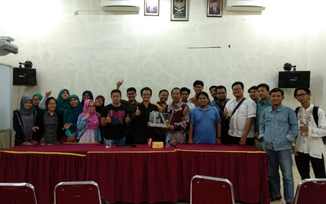 Upgrading Tim NCI ke Ketua Yayasan Sasmita Jaya