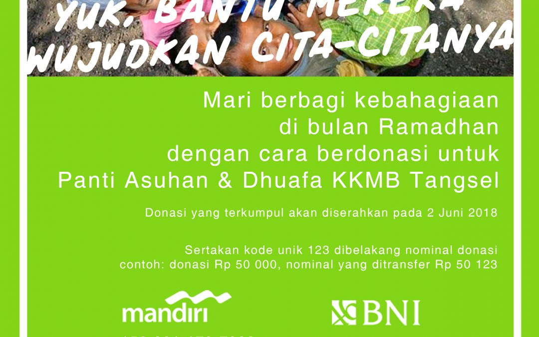 Ramadhan Berbagi Bersama KKJ Foundation dan Nano Center