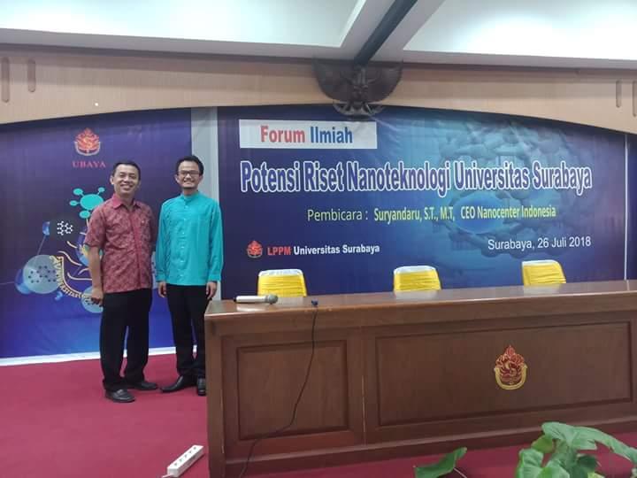 CEO Nano Center Tekankan Peranan LPPM dalam Riset Nanoteknologi