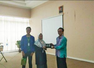 Kunjungan Politeknik Caltex Riau ke PT Nanotech Herbal Indonesia