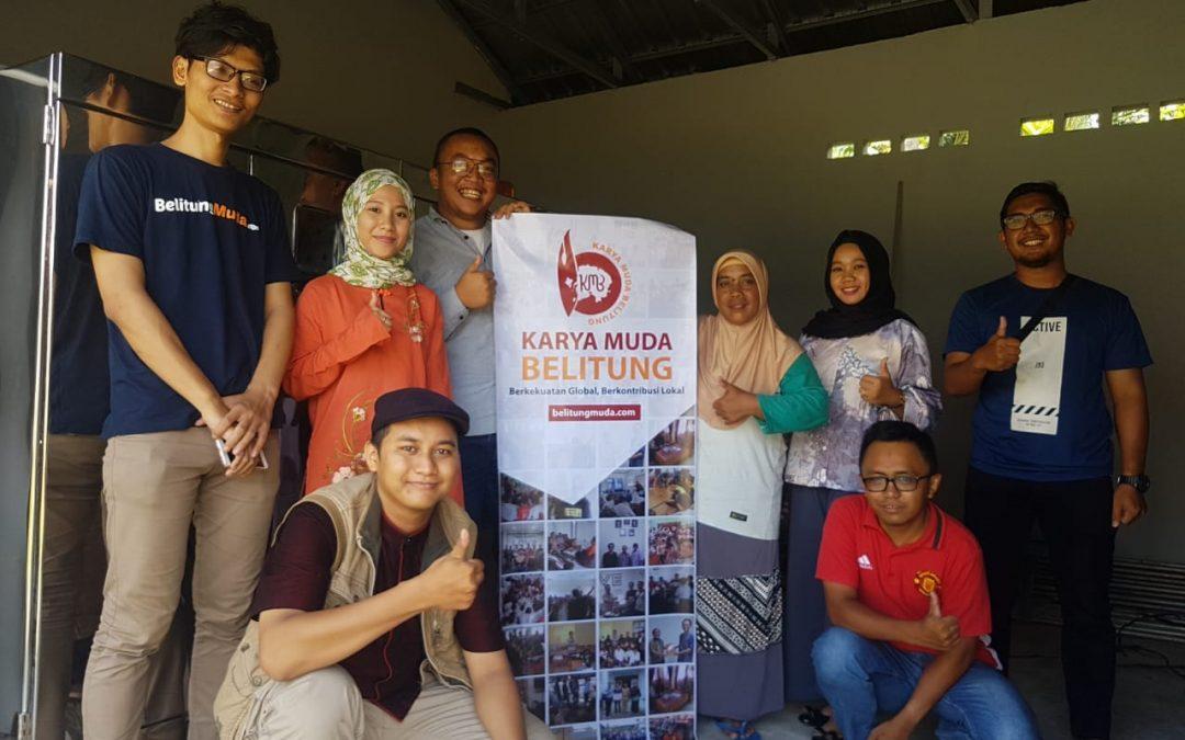 Nano Center Ikut Serta Mendukung Program Pemberdayaan Masyarakat Nelayan di Belitung Bersama Perkumpulan Karya Muda Belitung