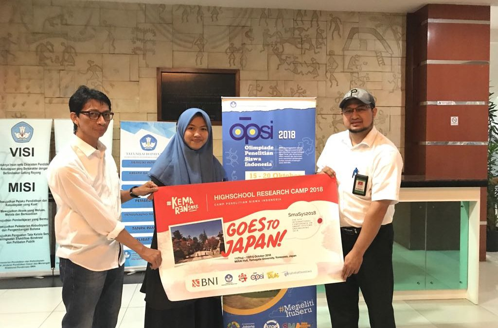 Nano Center Indonesia Kirimkan Siswa MAN 2 Malang ke International Conference di Yamagata University