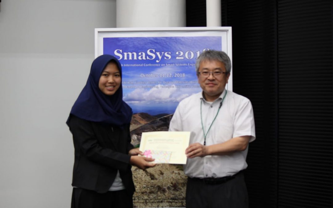 Siswa SMA Binaan Nano Center Raih Best Poster Award di SMASYS Yamagata 2018