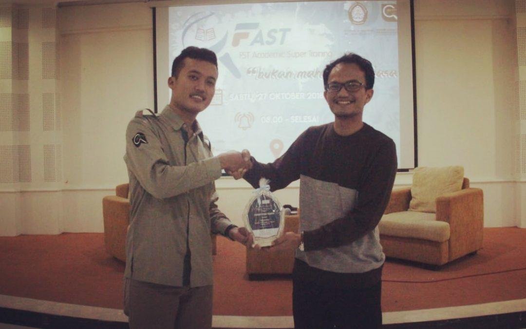 CEO Nano Center Bahas Nanoteknologi pada Seminar FAST Universitas Diponegoro