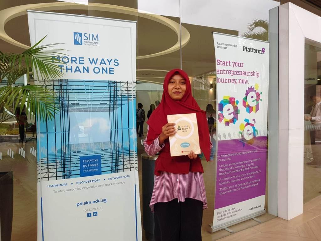 Siswa SMA Binaan Nano Center Masuk Nominasi Bidang Pertanian di Science Castle Singapura 2018