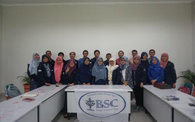 Kunjungan Bogor Science Club IPB ke Nano Center Indonesia