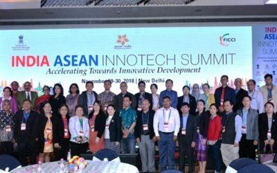 PT Nanotech Herbal Indonesia Buka Pasar Dunia Melalui India ASEAN Innotech Summit