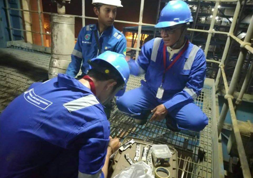 Sinergi Nanotech Indonesia Lakukan X-ray Testing di PLTU Indramayu