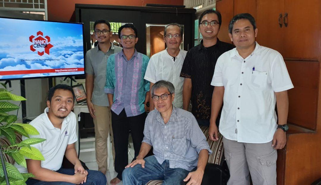 Kunjungan Indonesia Startup Center dan Startup Alumnia ke Nano Center Indonesia