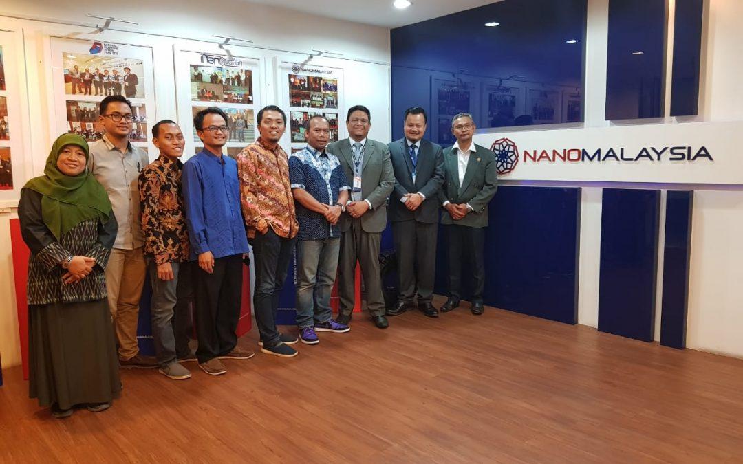 Nano Center Bangun Kolaborasi Strategis dengan Perusahaan NanoMalaysia