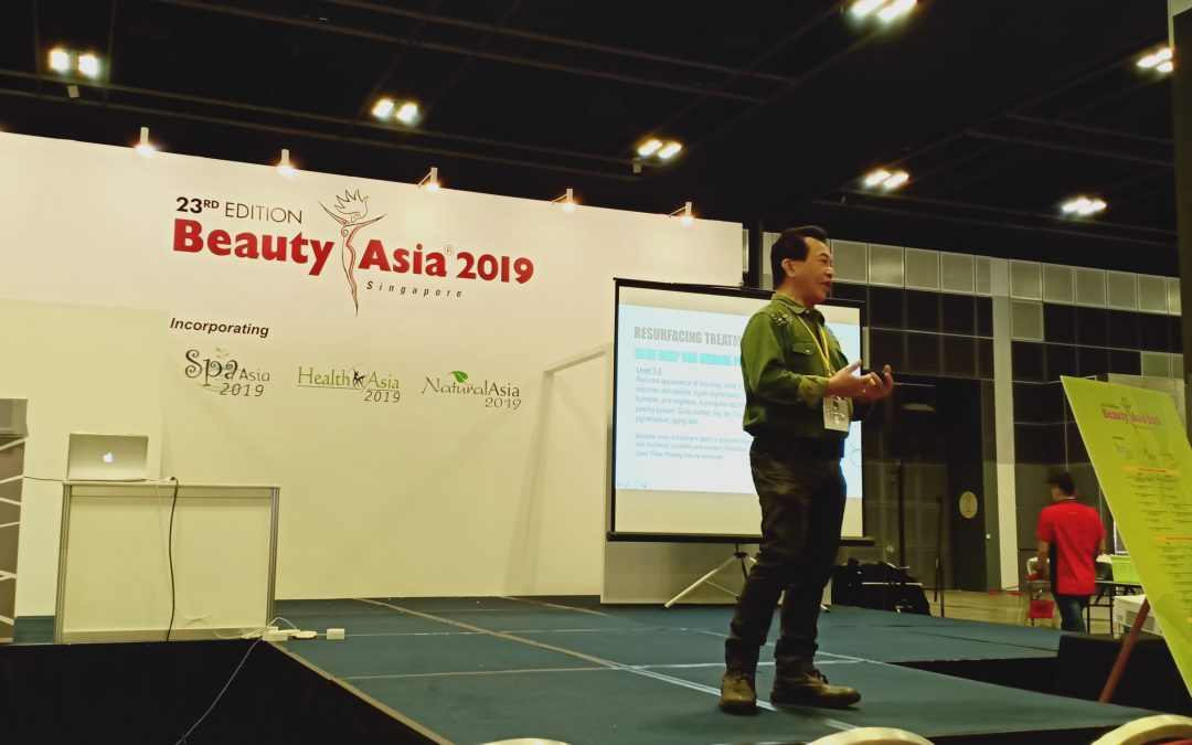 Nano Center Indonesia Hadiri  Event Beauty Asia Exhibition Singapura