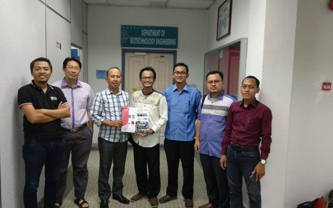 Nano Center Indonesia Penjajakan Kolaborasi dengan NanoRG IIUM Malaysia