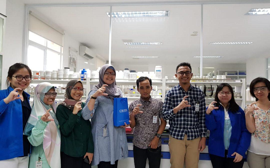 Kunjungan R&D Nanotech Grup ke PT Croda Indonesia