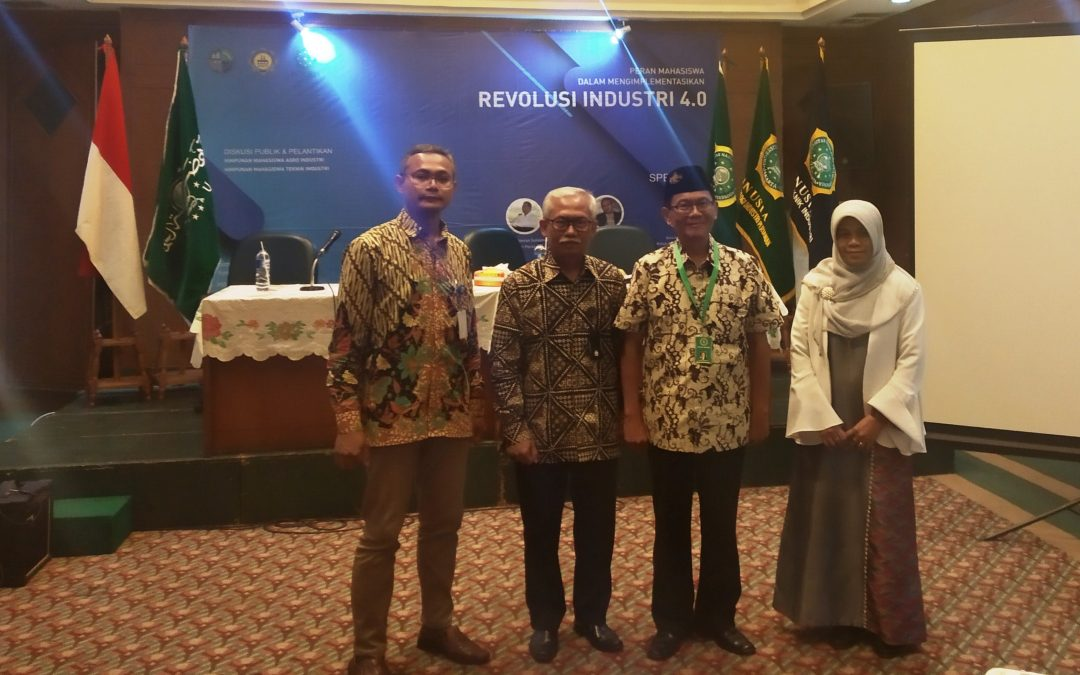 Pembina Nano Center Tekankan Peranan Mahasiswa Dalam Menyambut Revolusi Industri 4.0 Dalam Seminar di Universitas Nadhlatul Ulama Indonesia