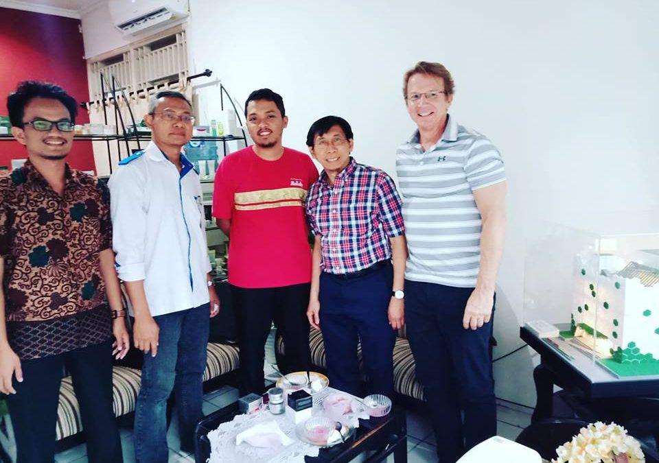 Nano Center Indonesia Terima Kunjungan dari Orion Genomics Inc