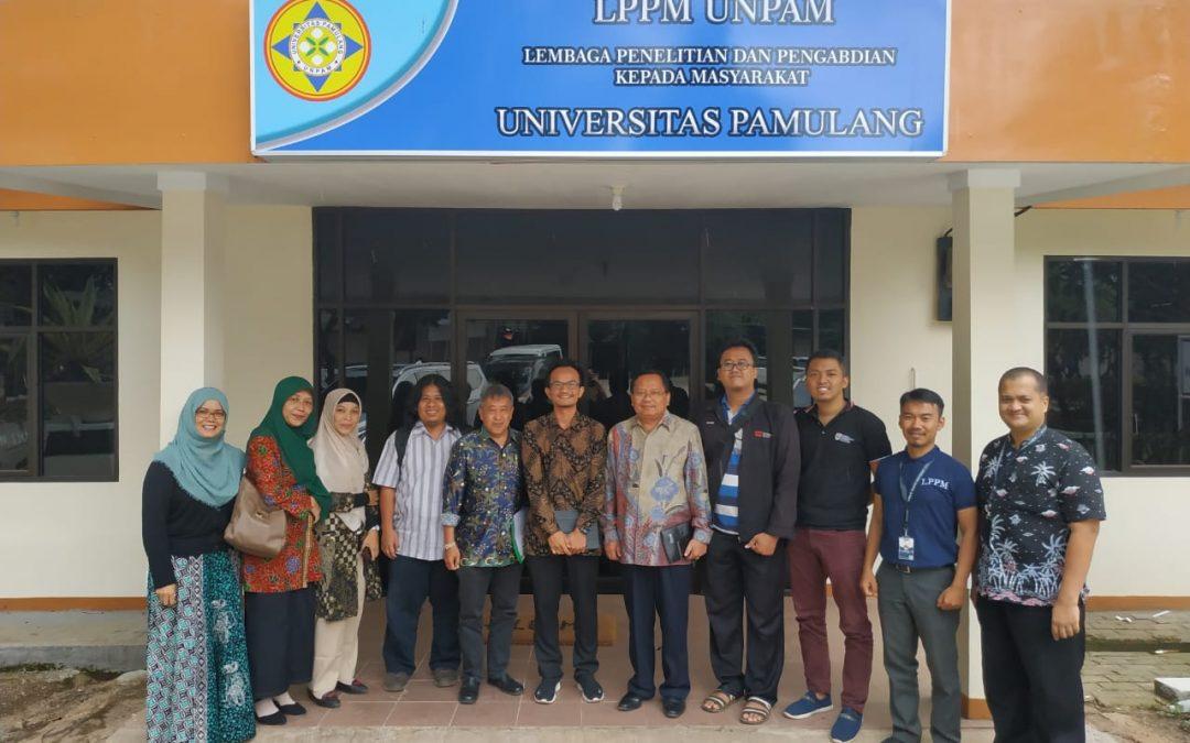 Nano Center bersama LPPM Universitas Pamulang Tingkatkan Penelitian dan Inovasi