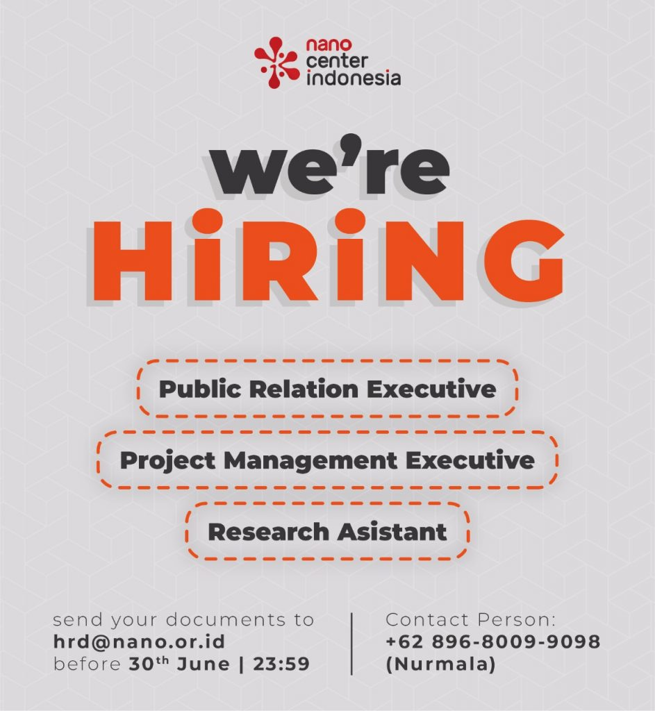 Nano Center Indonesia Career