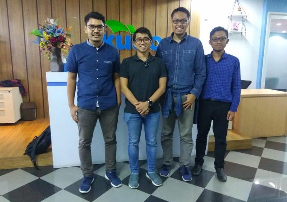Nanobubble.id Lakukan Sharing Sesion Startup Bersama CEO Kudo Grab