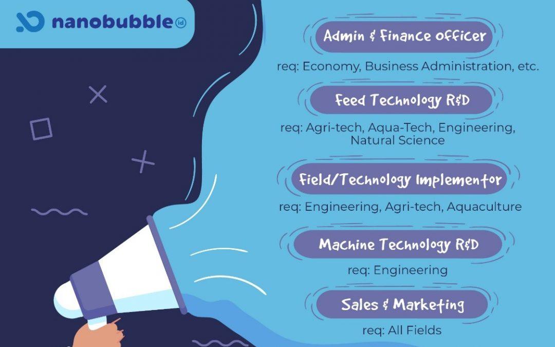 Nanobubble.id Career