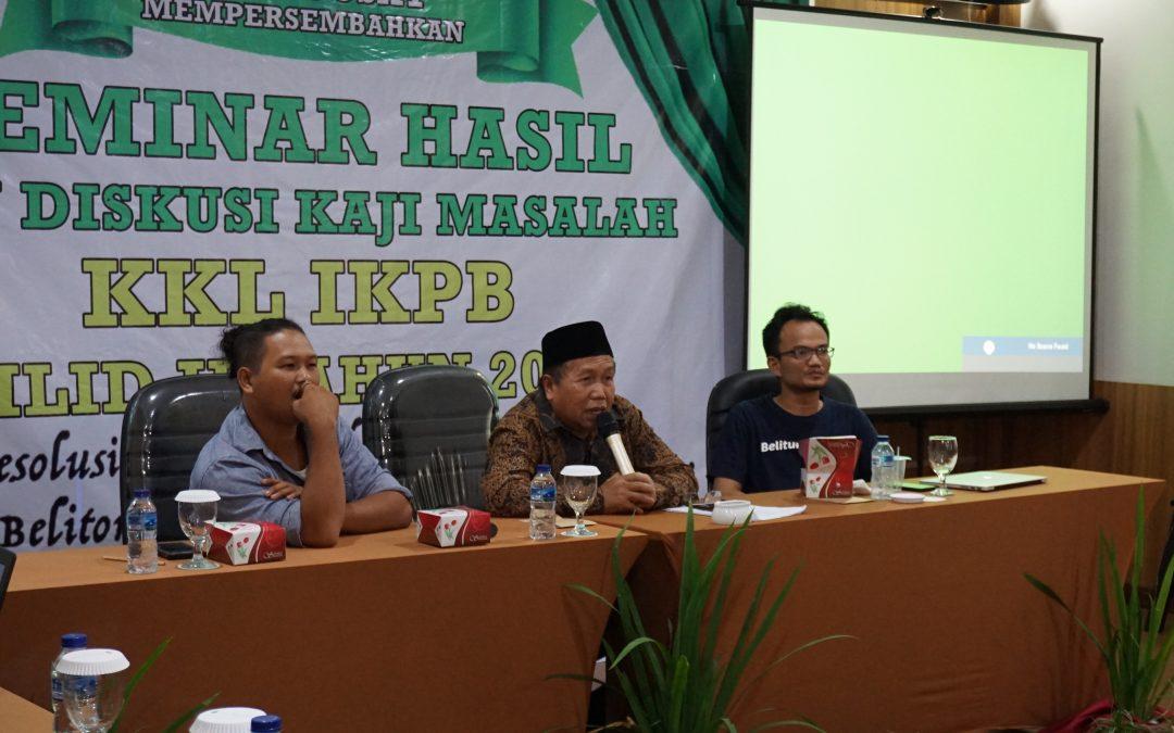 Co Founder Nano Center Ajak Pemuda Bersatu dan Berinovasi di Seminar KKL IKPB