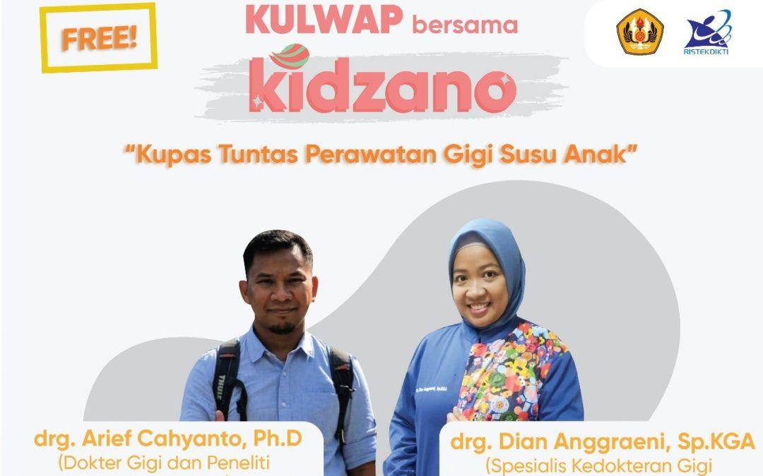 Kuliah WhatsApp Bersama Kidznano