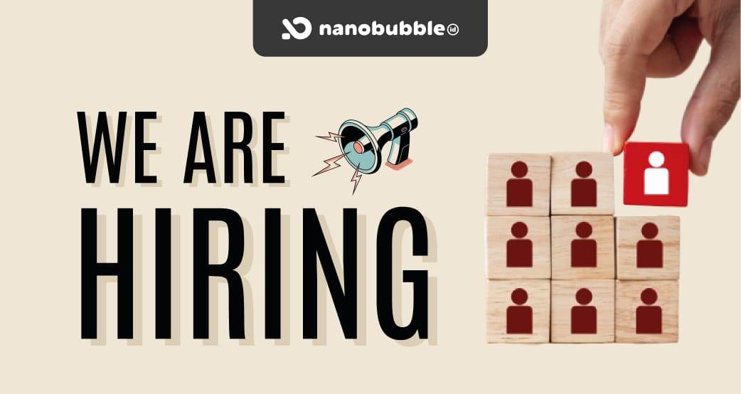 Nanobubble.id Career