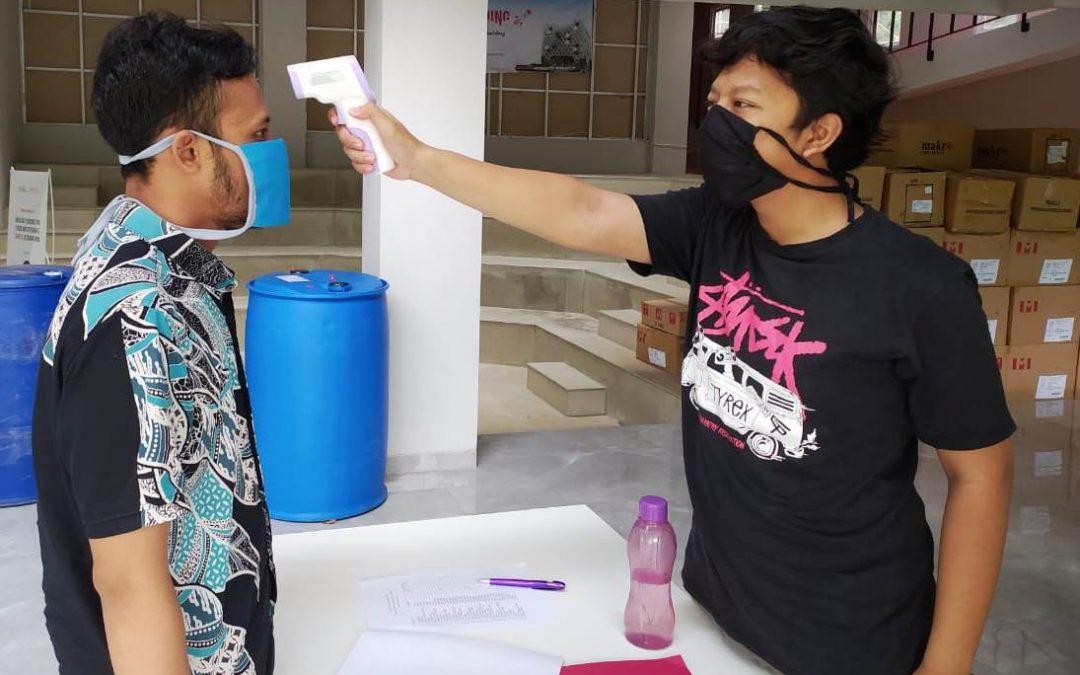 Cegah Penyebaran COVID-19, Nano Center Indonesia Jalankan SOP Pemerintah