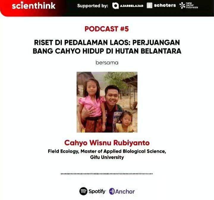 Podcast #5 Scienthink! Riset di pedalaman Laos
