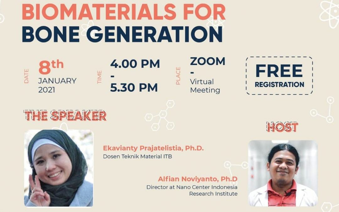 Nano Talks #18 Biomaterials For Bone Generation