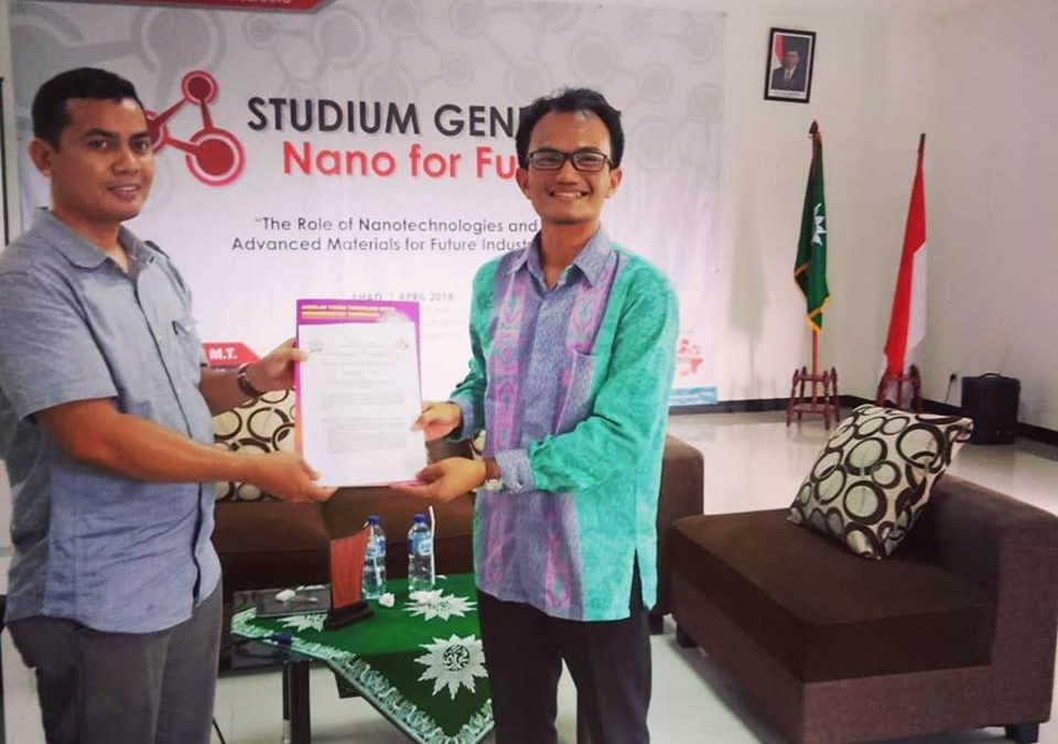 MOU Nano Center Indonesia dengan LPPM STTMM Tangerang