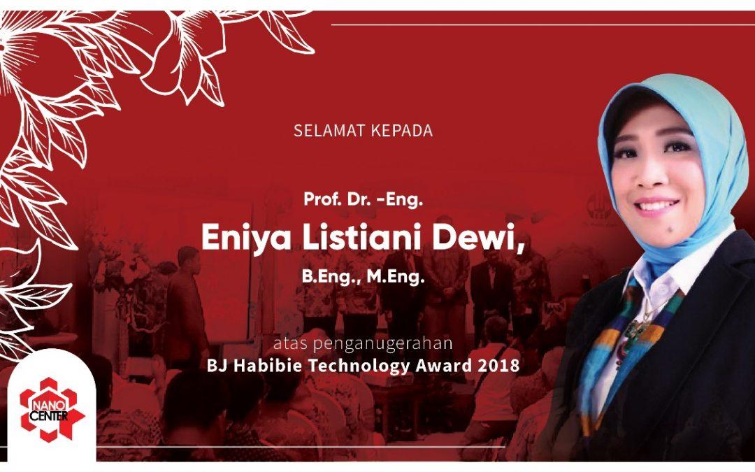 Penganugerahan BJ Habibie Technology Award 2018