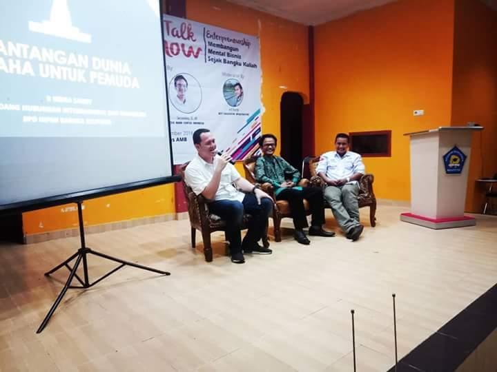 CEO Nano Center Dorong Peranan Kampus Menjadi Penggerak Pembangunan Ekonomi Daerah