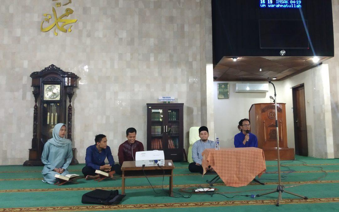 Pengajian Bulanan Keluarga Besar Nano Center Indonesia