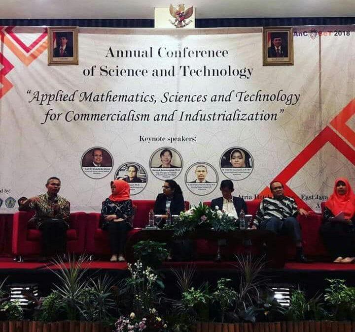 Pembina Nano Center Bahas Prospek dan Komersialisasi Nanoteknologi Pada ANCOSET 2018