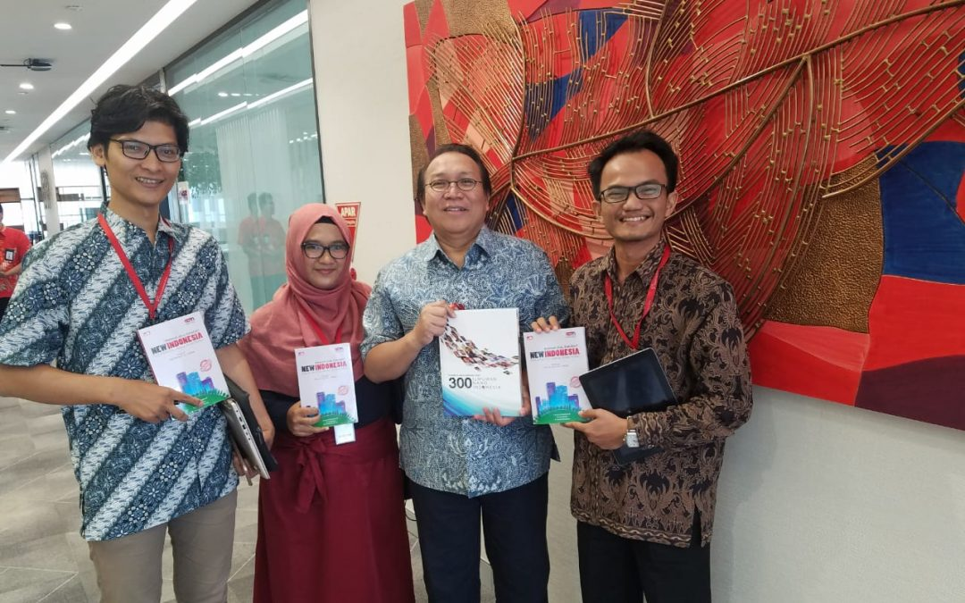 Komisaris Telkom Bersama CEO Nano Center Bahas Platform Digital