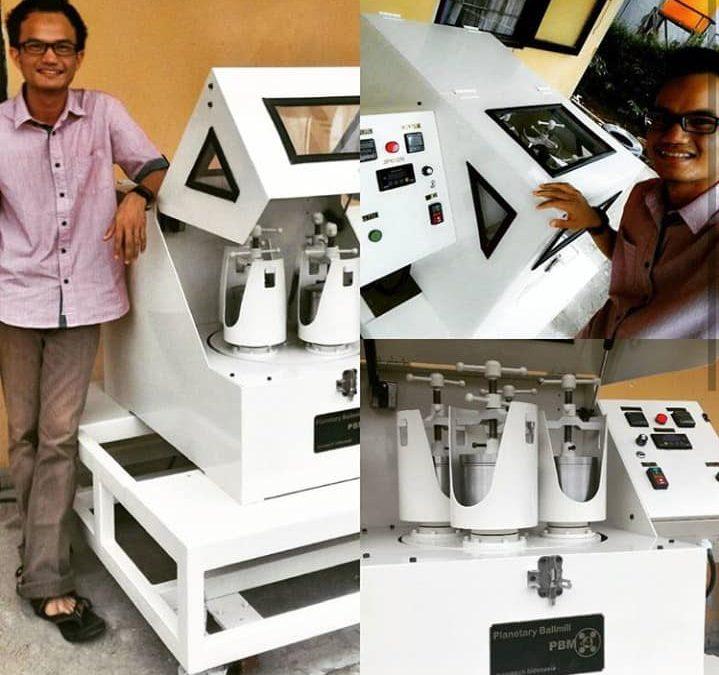 Nanotech Indonesia Supply Mesin Nano Seri Terbaru RBM-4 Ke PT Semen Indonesia