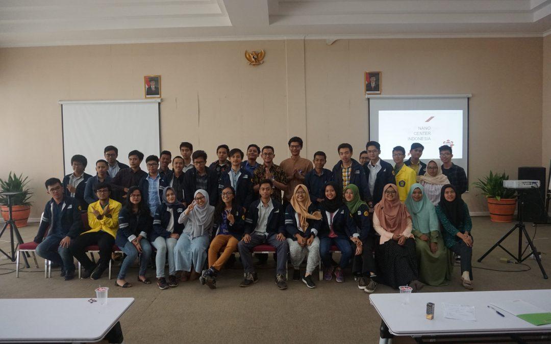 Kunjungan Mahasiswa Metalurgi UI Ke Nano Center Indonesia