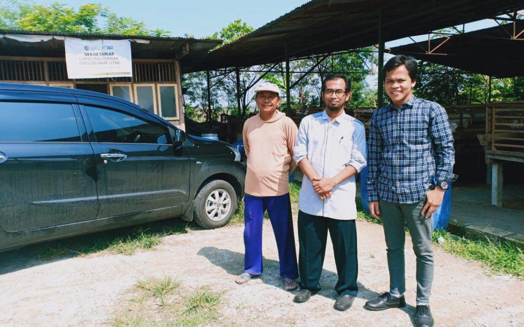 Nano Center Jajaki Kerjasama Pengaplikasian Pakan Fermentatif Ternak di Kabupaten Blora