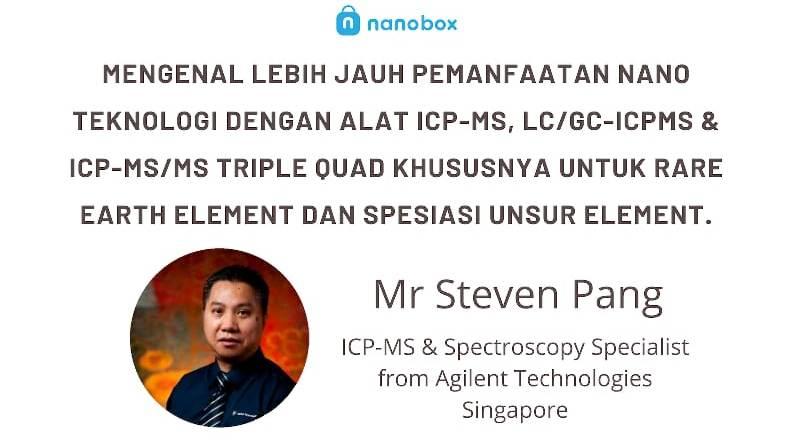 Seminar Alat ICP-MS, LC/GC-ICPMS & ICP-MS/MS Triple Quad