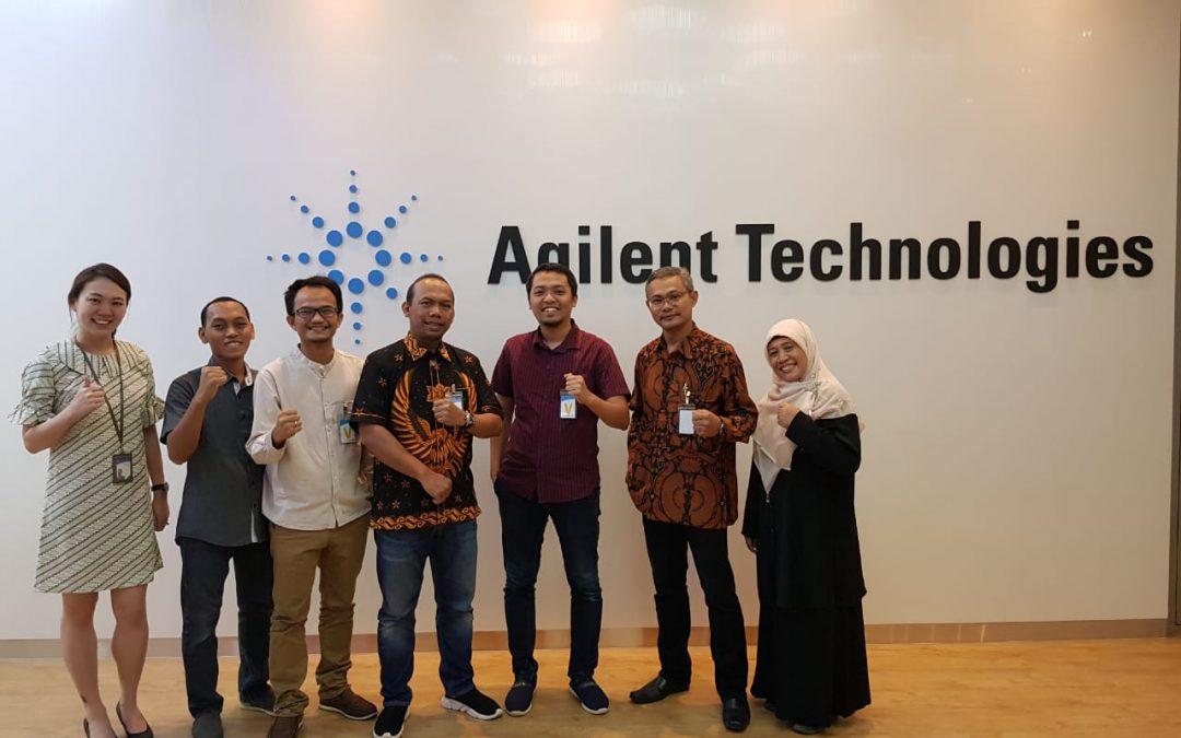 Nano Center Jajaki Kerjasama Dengan Agilent Technologies Singapore