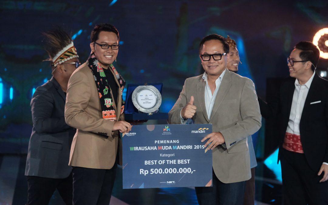 """Nanobubble.id Raih """"Best of The Best"""" Dalam Ajang Wirausaha Muda Mandiri 2019"""