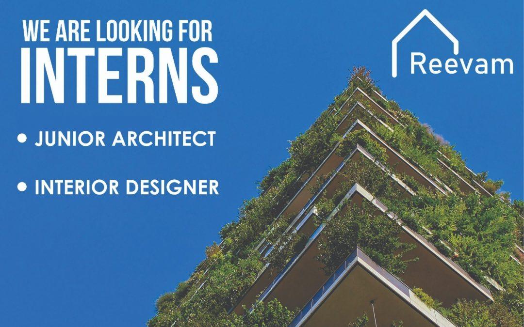 Internship Junior Architect & Interior Design