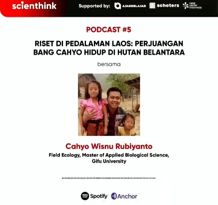 Podcast #5 Scienthink! Riset di pedalaman Laos