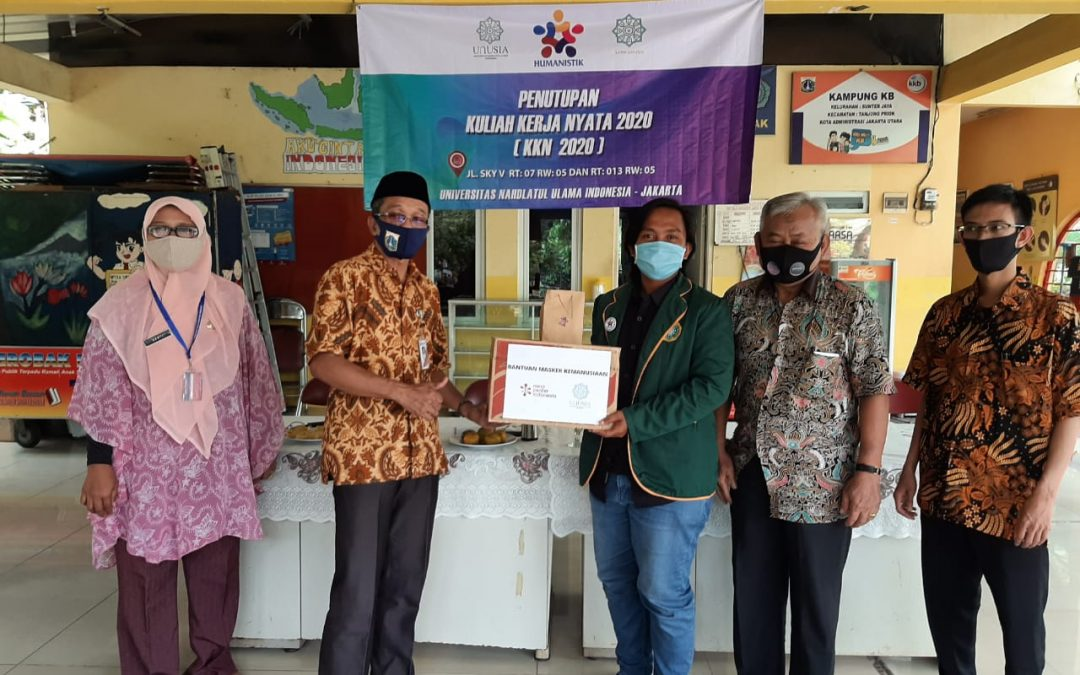 450 Masker Didonasikan untuk Cegah Penyebaran Covid-19 di Jakarta Utara