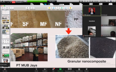 Kupas Tuntas Nanokomposit: Sintesis dan Aplikasinya dalam Seri Webinar Nano Talks #28